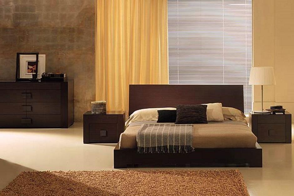 как выглядит стильная спальня