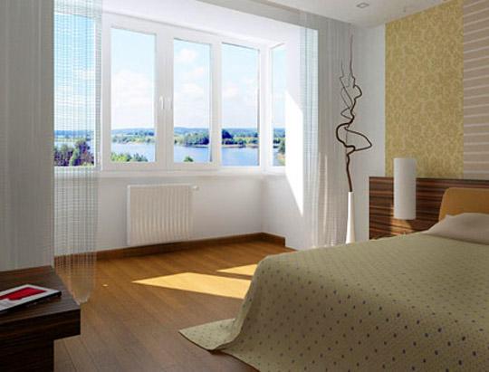 увеличенная спальня