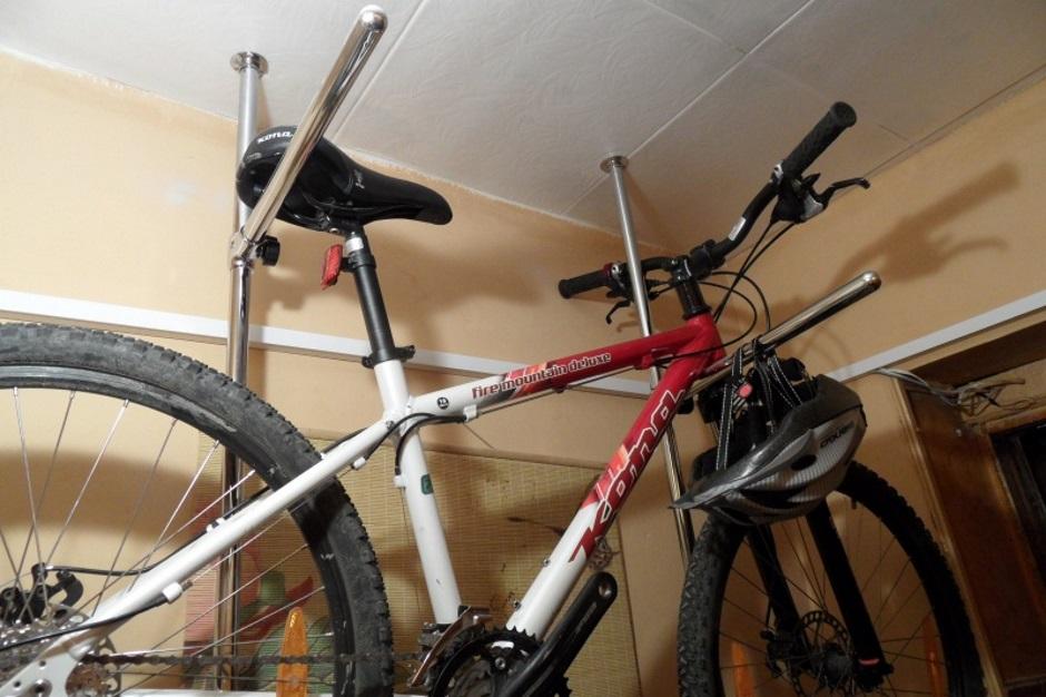 как хранить велосипед в доме зимой