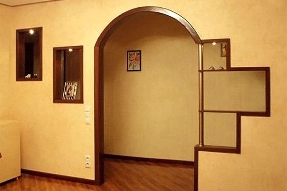 арка вместо двери