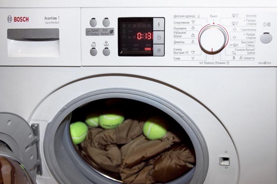 в стиральной машине