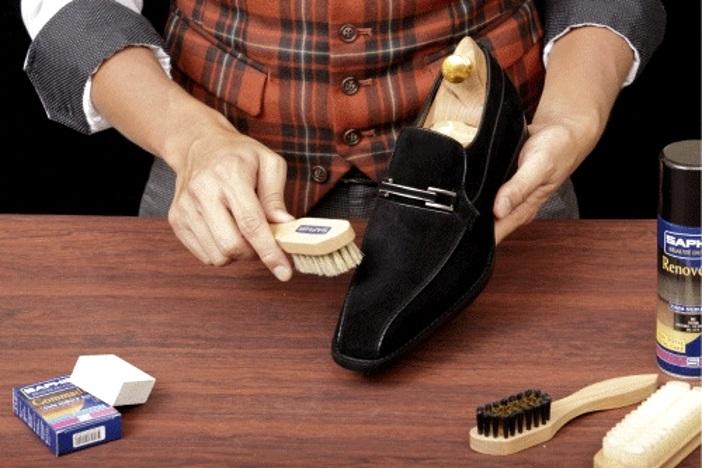 Уход за обувью из нубука: как чистить, можно ли мыть?
