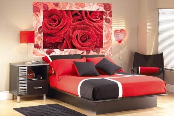 Фотообои для спальни: фото 50 прекрасных интерьеров спален с фотообоями