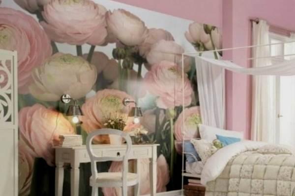 цветы в комнату девушки