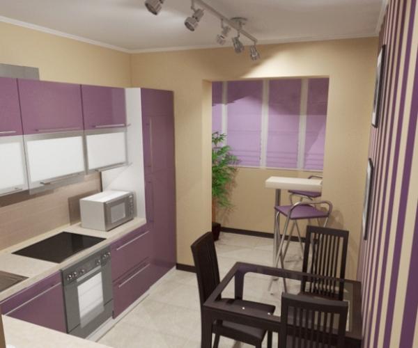 Цвет в интерьере кухни – советы и фото