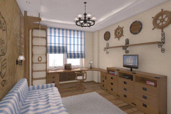 комната молодого человека