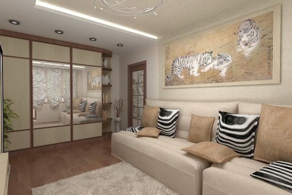 текстиль под общий стиль комнаты