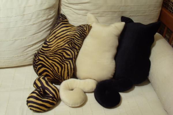 Подушки из меха своими руками фото 422