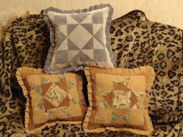 Сшить диванные подушки своими руками фото