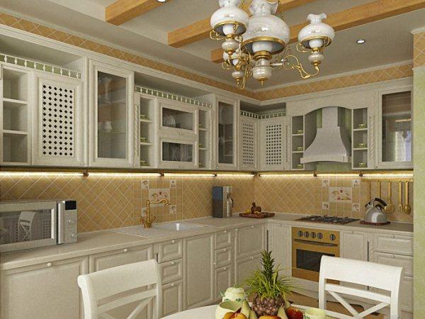 дизайн кухни прованс фото и советы как оформить