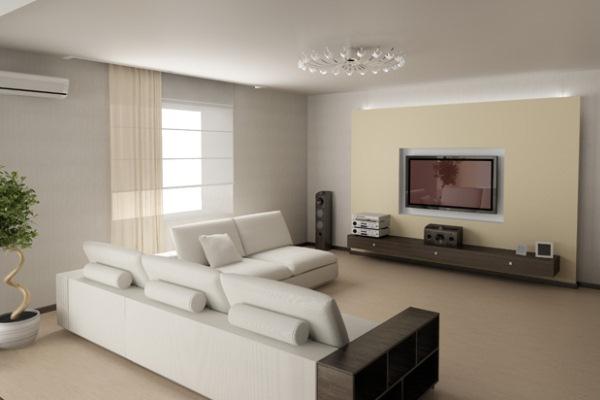 дизайн гостиной хай тек фото и этапы переоборудования