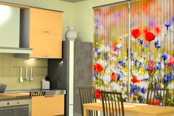 полевые цветы для кухни
