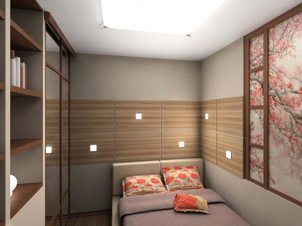 решение для маленькой спальни