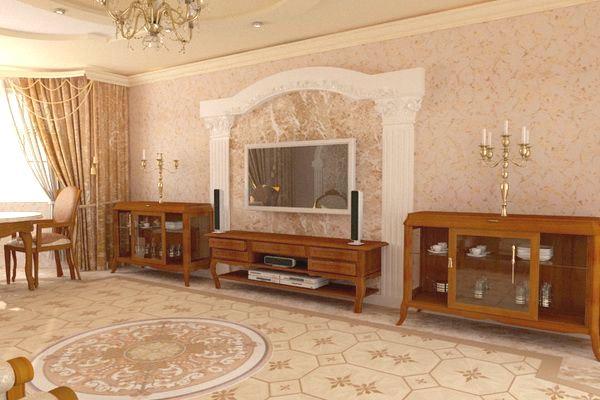 гармония с классической мебелью