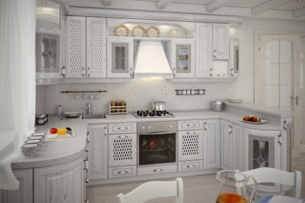 привлекательный кухонный гарнитур