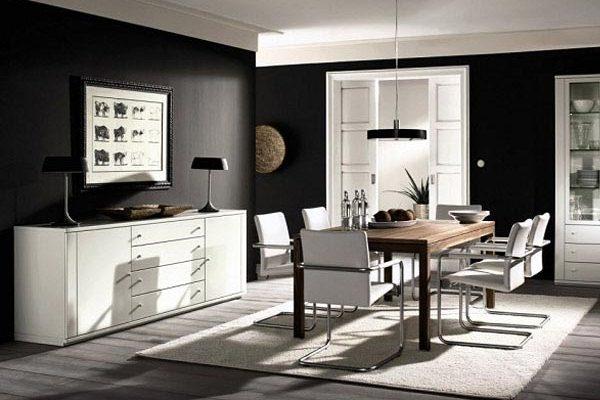 контраст с белой мебелью