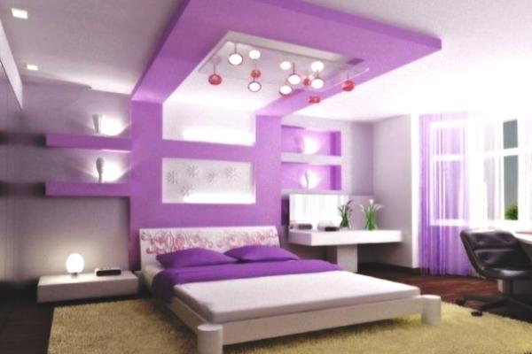 стильное оформление потолка