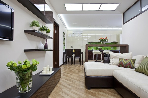 Как обустроить маленькую квартиру-студию фото, советы по 169