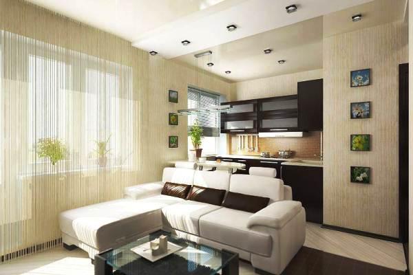 Как обустроить маленькую квартиру-студию фото, советы по 60