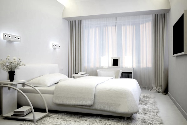 Как обустроить маленькую спальню в современном стиле
