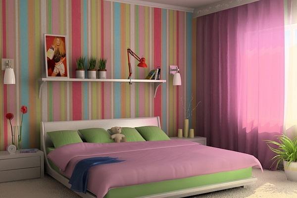 сочетание с текстилем комнаты