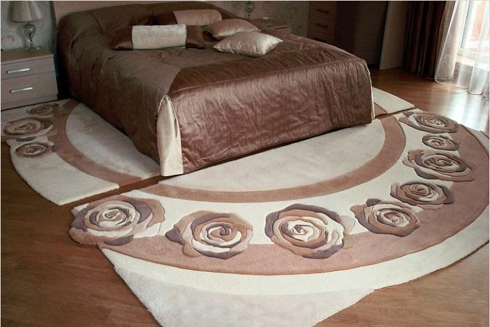 набор ковриков для спальни