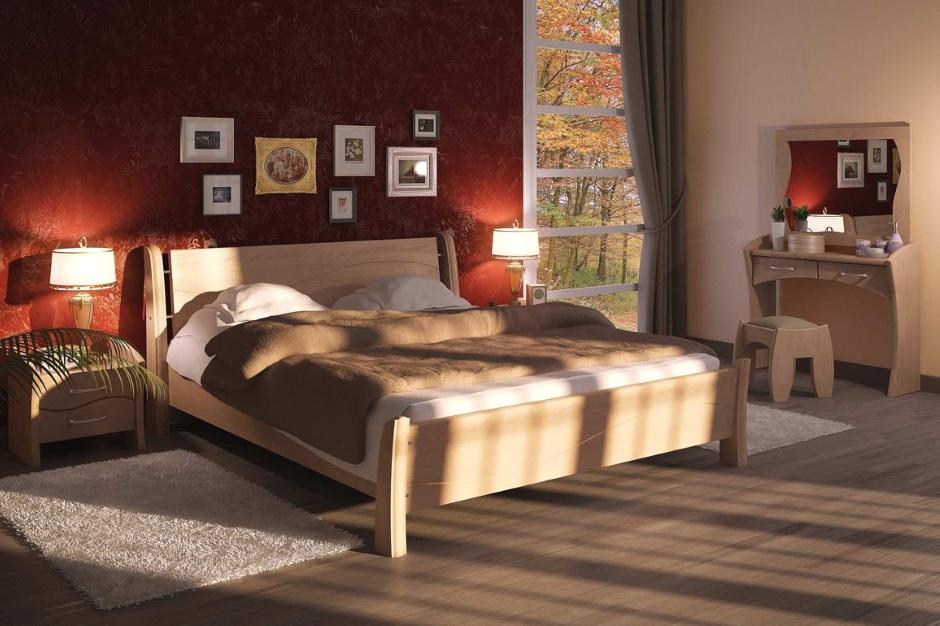 фото спальни кантри