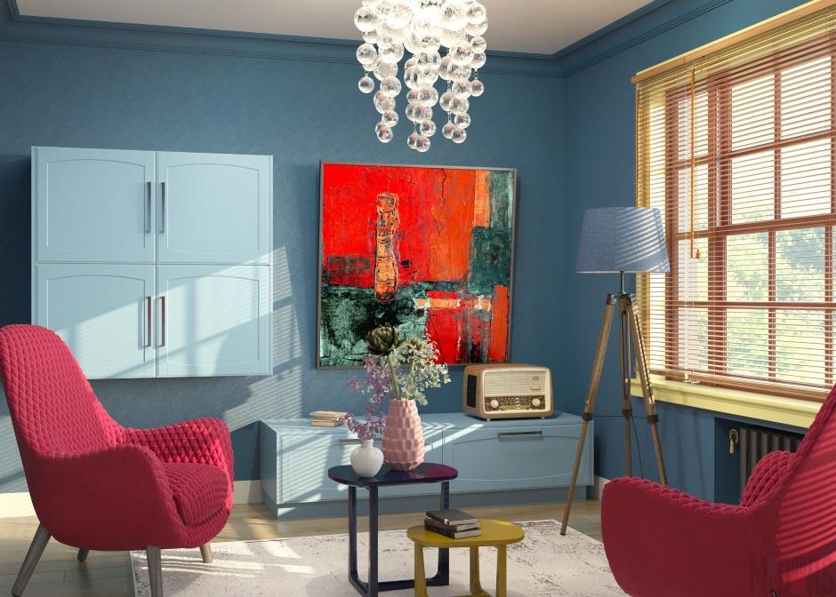 мебель в стиле шестидесятых