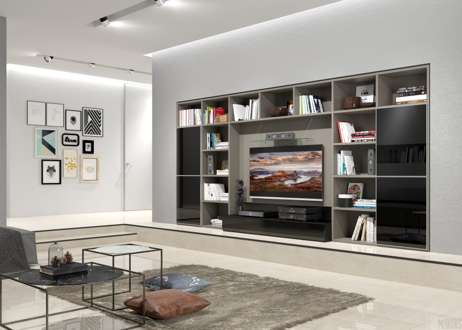 минимум мебели и максимум пространства