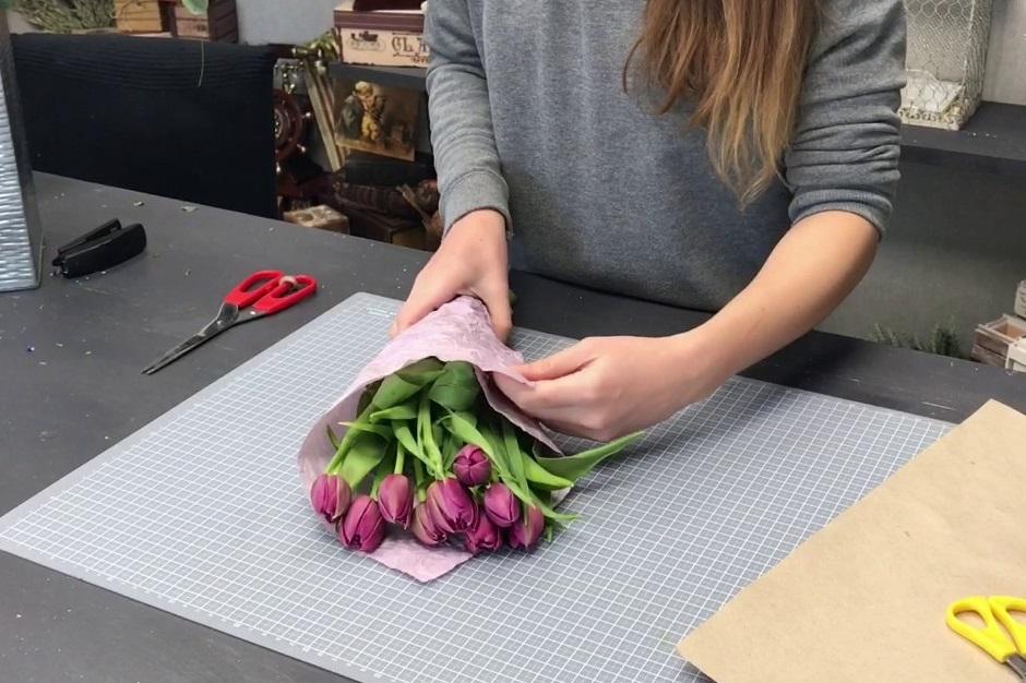 как выбрать букет тюльпанов