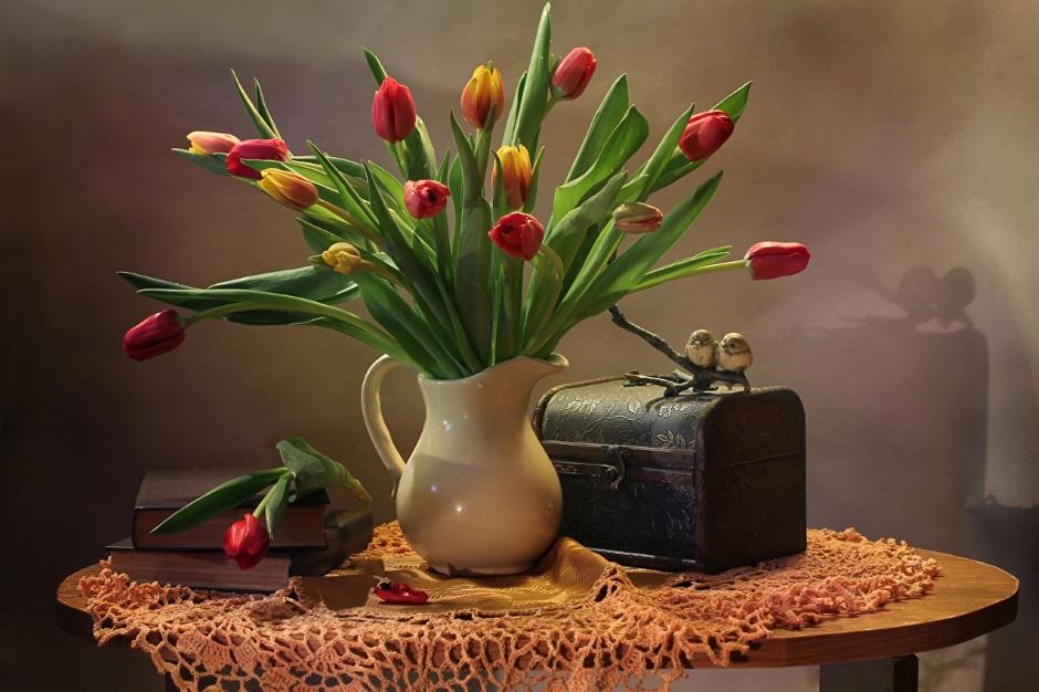 Можно ли тюльпаны в подарок приобрести заранее