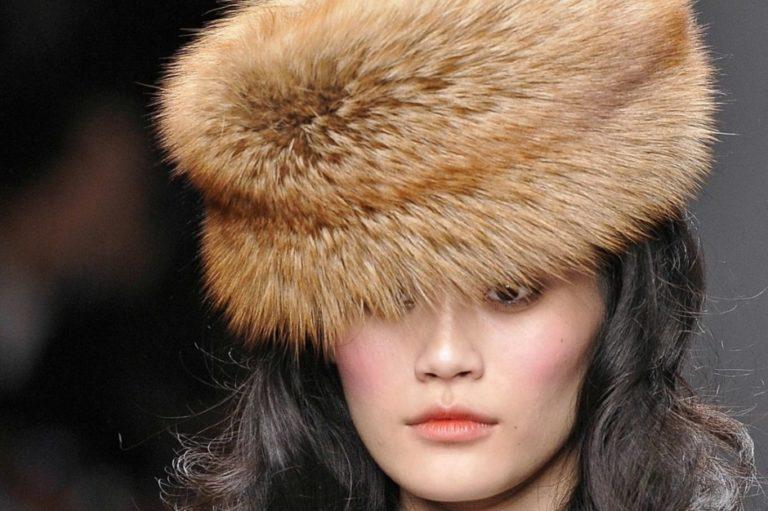 как почистить меховую шапку