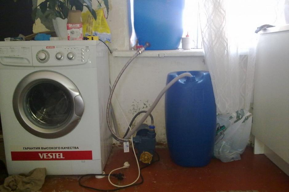 Как подключить стиральную машину на даче